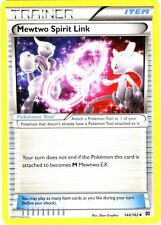 4x Pokemon XY BREAKthrough Mewtwo Spirit Link 144/162 Uncommon Card