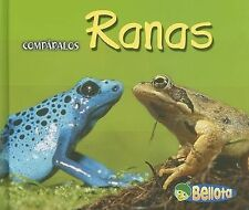 Ranas (ComparalosCreature Comparisons) (Spanish Edition)