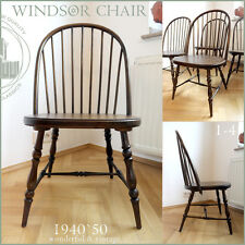 ANTIQUE & NICE & VINTAGE WINDSOR CHAIR STUHL CHAIR CHAISE MID CENTURY ~ 1940`50