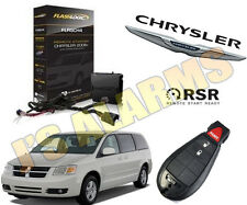 2011 DODGE GRAND CARAVAN PLUG & PLAY ADD ON REMOTE START 3 TIMES LOCK FLRSCH4
