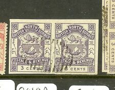 NORTH BORNEO (P0401B) ARMS. LION  3C SG39B IMPERF PR   CTO