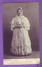 KNIPPER Russian DRAMA Theatre ACTOR  POSTCARD aa