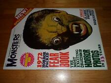 HIGH GRADE - Famous Monsters 1972 Year Book by Warren Publishing - VERY NICE!