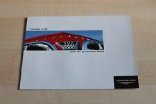 98555) Chrysler C-300 Letter Car HEMI Prospekt 03/2004