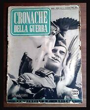 RIVISTA CRONACHE DELLA GUERRA - WW2 - N. 12 1940 guerre mondiali WAR MILITARE