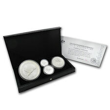 1995 Australia 4-Coin Silver Kookaburra Proof Set - SKU #68188