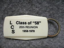 "1978 Linesville Pa Class Of ""58"" 20th Reunion Key Chain Keychain"