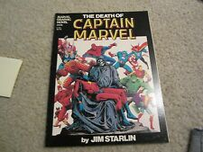 RARE DEATH OF CAPTAIN MARVEL RARE 7TH PRINT AWESOME THANOS APPEARANCE !!