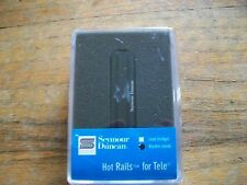 Seymour Duncan Hot Rails for Telecaster Neck Pickup STHR-1N Black 11205-04 NEW