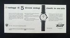 F484 - Advertising Pubblicità - 1953 - TISSOT OROLOGIO SUPER SIDERAL