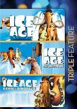 Ice Age/Ice Age: The Meltdown/Ice Age: Dawn of Dinos DVD .free shipping