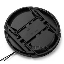 Photography Studio 52mm Nikon Camera Snap-on Len Lens Cap Cover with Cord Filter