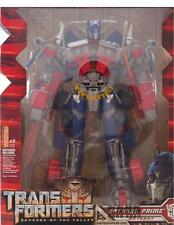 NEW! Transformers Rotf Leader Class Optimus Prime Double-edged Figure Toy In Box