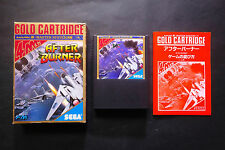 AFTER BURNER Sega Mark III System Good / Very Good Condition
