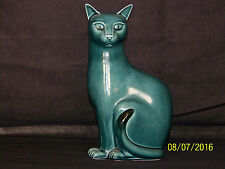 "Poole Studio Art Pottery Mid Century Statue of ""The Cat"""
