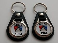 1964 FORD KEYCHAIN 2 PACK FOR GALAXY FALCON THUNDERBIRD FAIRLANE TRUCK