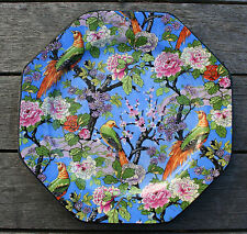 CROWN DUCAL CHINTZ - Vintage Blue Chintz Plate 6-3/4""