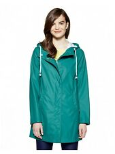 United Colors of Benetton jade green rain coat minimalist S M 8 10