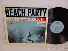 BEACH PARTY Wipe Out LP G.S.P. Records 6901 GARY PAXTON Hollywood Argyles SURF