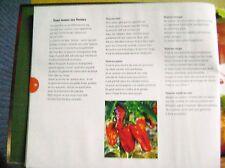 Livre de cuisine Le poivron fruit du soleil 25 recettes /Z85