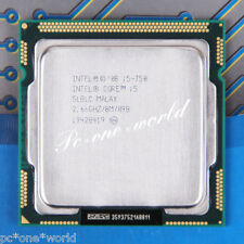 100% OK SLBLC Intel Core i5 750 2.66 GHz Quad-Core Processor CPU LGA 1156/Socket