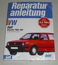 Reparaturanleitung VW Golf II / 2 Benziner 1,6 / 1,8 Liter mit GTI 16V KR PL
