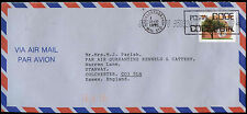 Canada 1995 Commercial Air Mail Cover To England #C30881