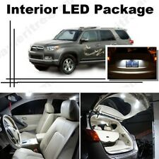 For Toyota 4Runner 2003-16 Xenon White LED Interior kit +White License Light LED