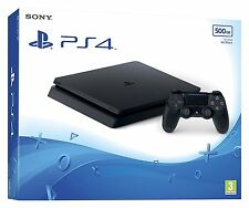 Sony playstation 4 brand new factory sealed 500 Go Noir de jais console-uk vendeur