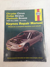 Haynes CHRYSLER CIRRUS DODGE STRATUS PLYMOUTH BREEZE 95-01 Repair Manuel 25015