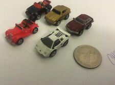Micro Machines European Coll. Mercedes SC Lamborghin Countach Jaguar (1988) V1