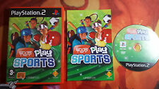 EYETOY PLAY SPORTS PAL ESP PLAYSTATION 2 PS2 SHIPPING 24/48H