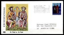 CARTUCCIA chiese. ST. Peter e St. Paul. SOST-Lettera. Liechtenstein 1969