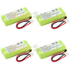 4 Cordless Home Phone Rechargeable Battery 350mAh NiCd for Uniden BT-101 BT-1011