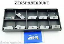 10  Wendeplatten GSFN 5.78 IC32 Self-Grip Schneideinsätze z. Trenn-/Nutenfräsen