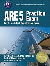 ARE 5 Practice Exam for the Architect Registration Exam -BRAND NEW
