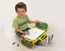 Kids Portable Laptop Tray Cushioned Home Work Desk Table Reading Board Writing