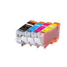 4 Pack Ink Combo Set for PGI-5BK CLI-8 Canon Pixma IP3300 IP3500 MX700 MP510