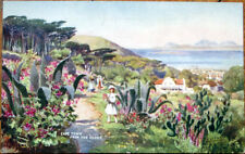 1910 Artist-Signed Tuck Postcard: 'Cape Town from the Gloof' - South Africa