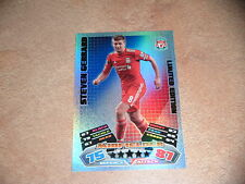 topps Match Attax 2011-2012 Limited Edition - Steven Gerrard LE4