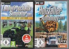 Landwirtschafts Simulator 2011 Collector's Edition + Holzfäller Anthology 2014