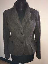 Veste femme Sonia Rykiel. marron laine mix. uk 10.