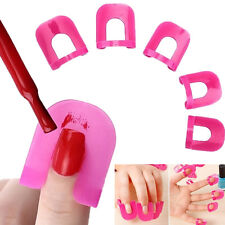 Anti-Flooding Template Clip Nail Art Accessories Tools Nail Polish Edge 26pcs