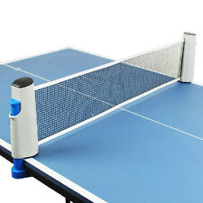 Portable Table Tennis Net Retractable Net Kit Replacement Ping Pong Accessory