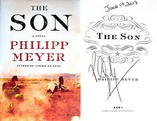 Philipp Meyer~SIGNED & DATED~The Son~1st/1st + Photos! Author of American Rust