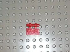 LEGO - PLATE, Modified 1 x 2 with Handle on Side, RED x 10 (2540) PM164