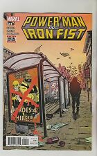 MARVEL COMICS POWER MAN AND IRON FIST #11 FEBRUARY 2017 1ST PRINT NM