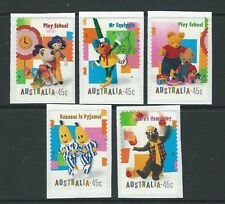 AUSTRALIA 1999 CHILDRENS TELEVISION PROGRAMMES SELF ADHESIVE UNMOUNTED MINT