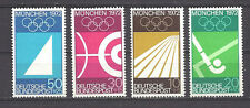 GERMANY , 1969, SPORTS ,  1972 OLYMPICS, SET OF 4 STAMPS , PERF, VLH
