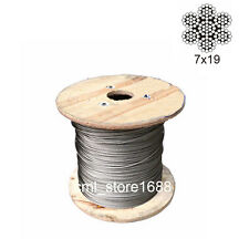1.5mm 7x19 304Stainless Steel Cable Wire Rope (50feet)
